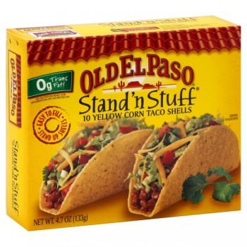 Old El Paso Stand 'N Stuff Taco Shells - 10 ct
