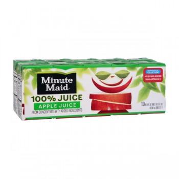 Minute Maid 100% Apple Juice - 10 pk