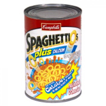 Campbell's SpaghettiOs plus Calcium