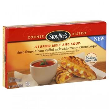 Stouffer's Corner Bistro Stuffed Melt & Soup Ham Melt & Tomato Soup