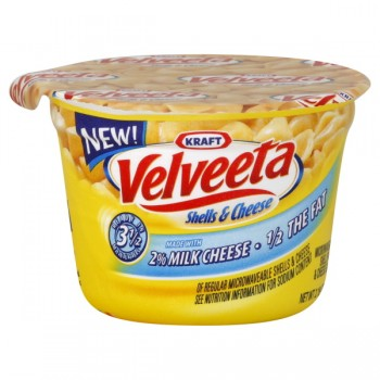 Kraft Velveeta Shells & Cheese Cup Original 2% Milk Cheese