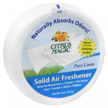 Citrus Magic Air Freshener Odor Absorbing Solid Pure Linen