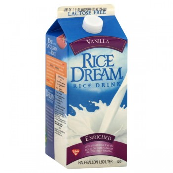 Rice Dream Non Dairy Beverage Enriched Vanilla Refrigerated
