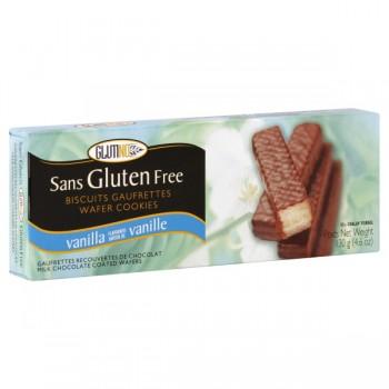 Glutino Wafers Gluten Free Vanilla Chocolate Coated