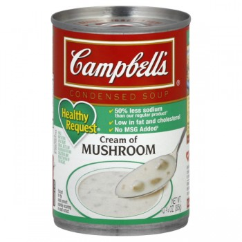 Campbell's Condensed Healthy Request Soup Cream of Mushroom 98% Fat Free