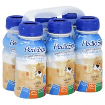PediaSure Vanilla Nutrition Shake - 6 pk