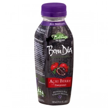 Bolthouse Bom Dia Acai Berry w/Pomegranate Juice Antioxidant Rich Natural