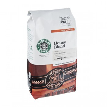Starbucks House Blend Mild Coffee (Whole Bean)