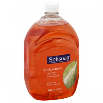 Softsoap Liquid Hand Soap Antibacterial with Light Moisturizer Refill