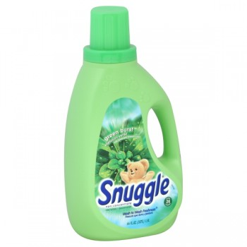 Snuggle Liquid Fabric Softener Green Burst with Emerald Stream Scent