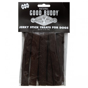 Castor & Pollux Good Buddy Jerky Stick Treats for Dogs Natural - 11 ct