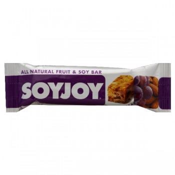 SOYJOY All Natural Fruit & Soy Snack Bar Raisin Almond