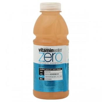 Glaceau Vitamin Water Zero Glow Strawberry-Guanabana Flavored