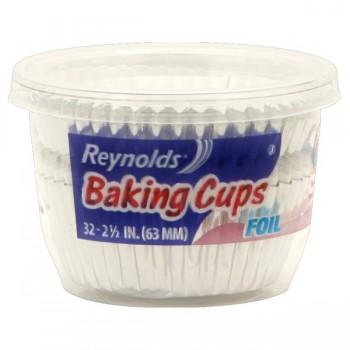 Reynolds Baking Cups Foil Large 2.5 Inch