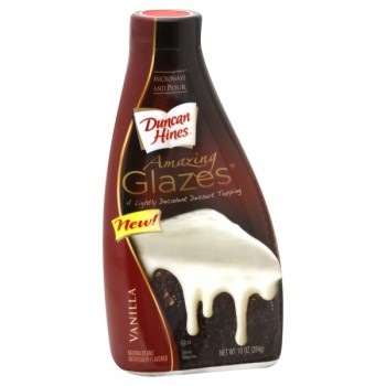 Duncan Hines Amazing Glazes Dessert Topping Vanilla