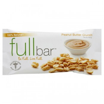 FullBar Appetite Control Bar Peanut Butter Crunch 100% Natural