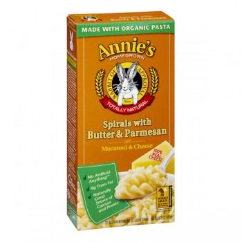 Annie's Homegrown Spirals with Butter & Parmesan Natural