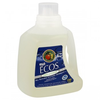 Earth Friendly Ecos Ultra Liquid Laundry Detergent HE Free & Clear