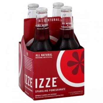 IZZE Sparkling Pomegranate Juice - 4 pk