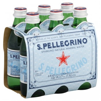 San Pellegrino Sparkling Mineral Water - 6 pk