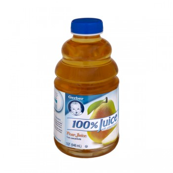 Gerber 100% Pear Juice