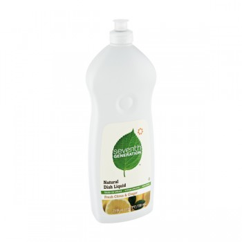 Seventh Generation Dish Liquid Fresh Citrus & Ginger Natural