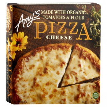 Amy's Pizza Cheese Single Serve Organic Frozen