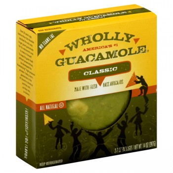 Wholly Guacamole Classic All Natural Refrigerated