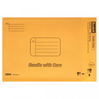 3M Scotch Bubble Mailer 8.5 X 11 Inch