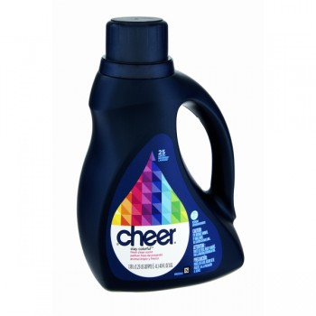 Cheer 2X Concentrated Liquid Laundry Detergent HE brightCLEAN Fresh Scent