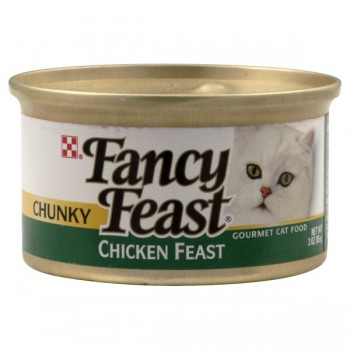 Fancy Feast Wet Cat Food Chunky Chicken Feast