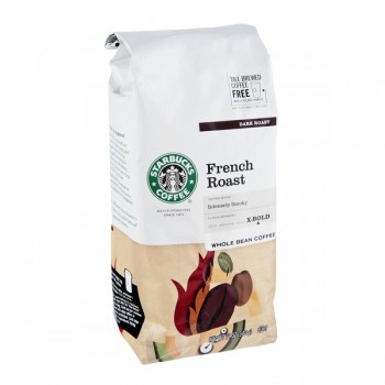 Starbucks French Roast X-Bold Coffee (Whole Bean)