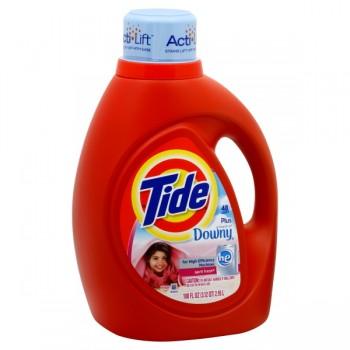 Tide Liquid Laundry Detergent HE Plus Downy April Fresh