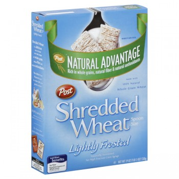 Post Healthy Classics Cereal Shredded Wheat Frosted Spoon Size