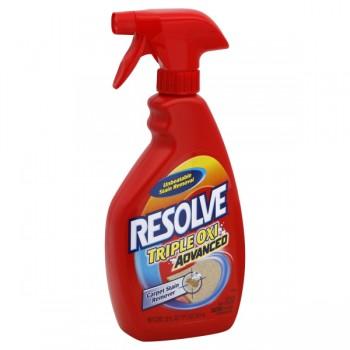 Resolve Carpet Stain Remover Triple Oxi Advanced Trigger Spray