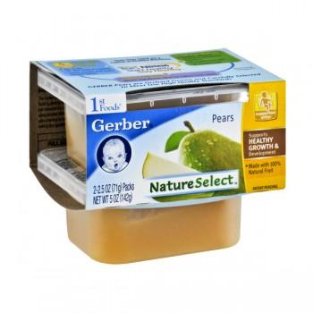 Gerber 1st Foods Nature Select Pears - 2 pk