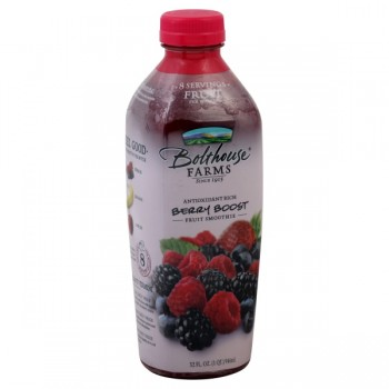Bolthouse Farms Berry Boost 100% Juice Fruit Smoothie All Natural