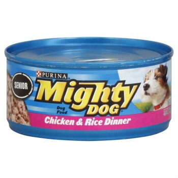 Purina Mighty Dog Wet Dog Food Senior Chicken & Rice Dinner