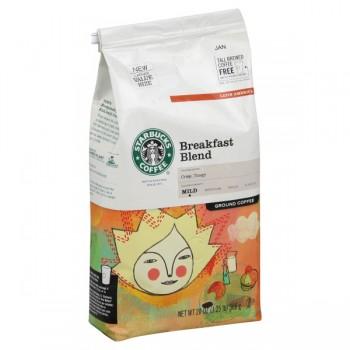Starbucks Breakfast Blend Mild Coffee (Ground)