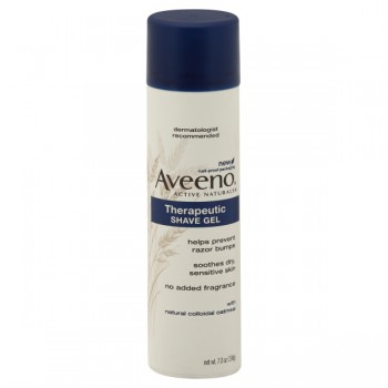 Aveeno Shave Gel Therapeutic with Oatmeal Sensitive Skin