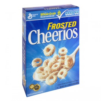 General Mills Cheerios Cereal Frosted