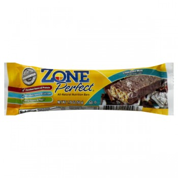 ZonePerfect Nutrition Bar Chocolate Mint All Natural