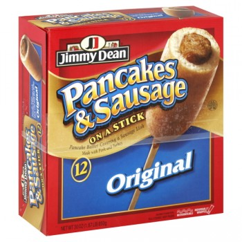 Jimmy Dean Pancakes & Sausage on a Stick Original - 12 ct