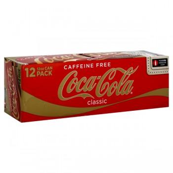 Caffeine Free Coca-Cola Classic - 12 pk