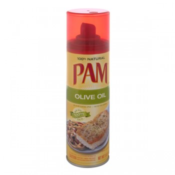 Pam Cooking Spray Olive Oil Fat Free Non-Stick