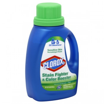 Clorox 2 Stain Fighter & Color Booster Liquid Formula Free & Clear