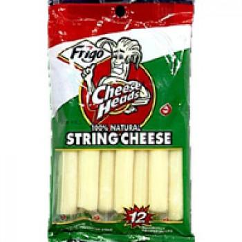 Frigo Cheese Heads String Cheese Mozzarella - 12 ct
