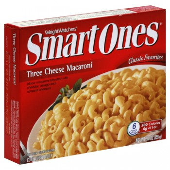 Weight Watchers Smart Ones Macaroni & Three Cheese