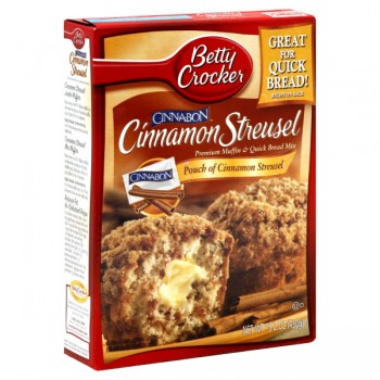 Betty Crocker Muffin Mix Cinnamon Streusel