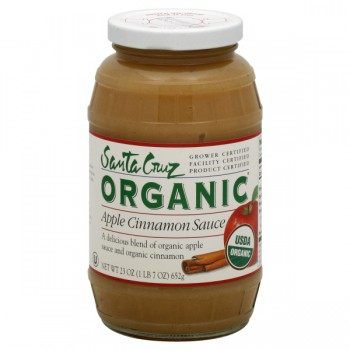 Santa Cruz Organic Apple Sauce Cinnamon